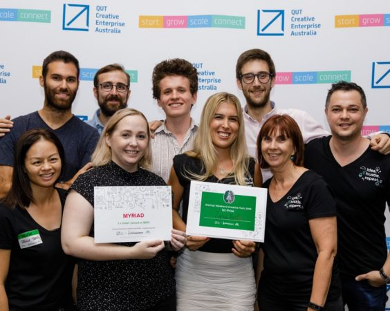 2018 Startup Weekend Creative Tech Winner Announced